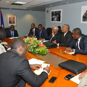 Haiti receives a High Level Mission from the CFATF and reinforces political commitment to reform process
