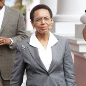 The Honourable Allison Maynard-Gibson, Attorney General and Minister of Legal Affairs, Photo Source: Google Image