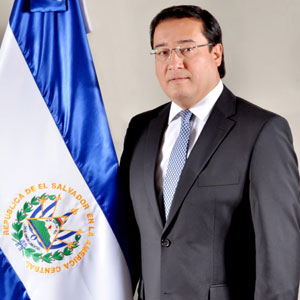 el Honorable Luis Antonio Martínez González, Fiscal General de El Salvador