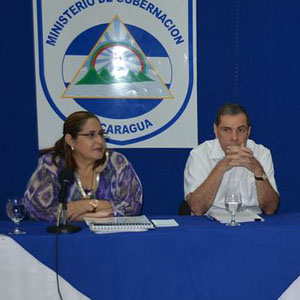 The Honourable Ana Isabel Morales Mazun, Minister of Citizen Power for the Interior and President of the National Council Against Organized Crime