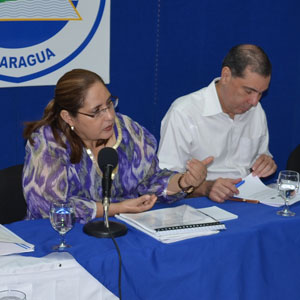 The Honorable Ana Isabel Morales Mazun, Minister of Citizen Power for the Interior and President of the National Council against Organized Crime and Prime Contact of Nicaragua