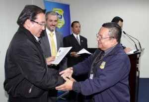The Prosecutor General of the Republic and CFATF Deputy Chair, Lic. Luis Antonio Martínez
