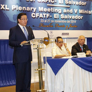 the Honorable Luis Martínez Gónzalez, Attorney General, the Republic of El Salvador, assumed the Chair of the Organization