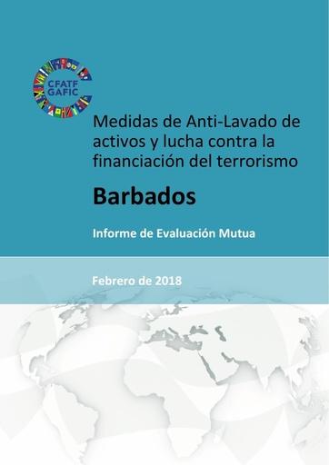 4ª Rda Informe de Evaluación Mutua (IEM) de Barbados