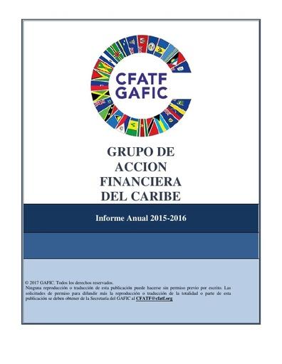 Informe Anual 2015-2016