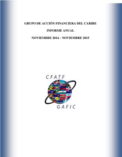 Informe Anual 2014-2015
