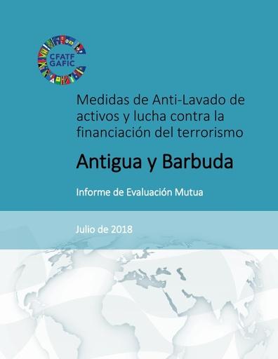 4ª Rda Informe de Evaluación Mutua (IEM) de Antigua y Barbuda